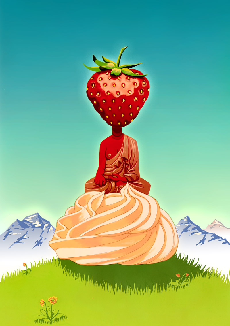 Enlightened strawberry